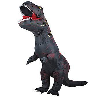 Szürke Felnőtt Tyrannosaurus Rex felfújható jelmez felnőtt dinoszaurusz jelmez
