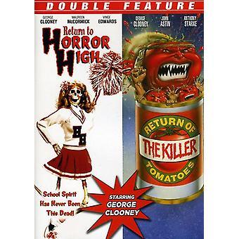 Retour à l'horreur haute/retour de l'importation USA tueur tomate [DVD]