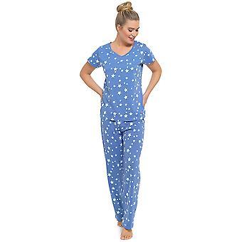 Kære Tom frankerne sommer sjovt Print kort ærme pyjamas sæt pyjamas nattøj