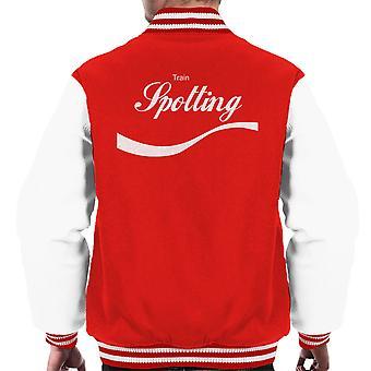 Trainspotting T2 Cola logo férfiak ' s Varsity Jacket