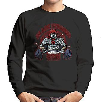 Black Pyramid Gym Mumm Ra Thundercats Men's Sweatshirt