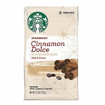 Starbucks scorțișoară Dolce Ground cafea