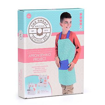 Great British Sewing Bee Apron Kit, GBSB Kids Sewing Project