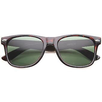 Klassinen silmälasien ikonin 80 Retro suuri Horn reunustetut aurinkolasit 54mm