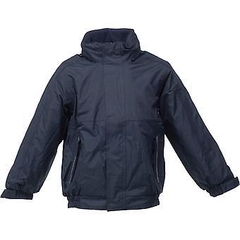 Regata meninos e meninas Dover Fleece impermeável forrado jaqueta