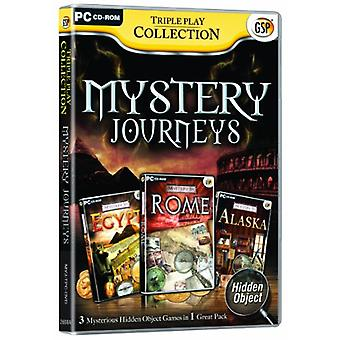 Triple Play Collection Mystery Journeys (PC CD) - Novo
