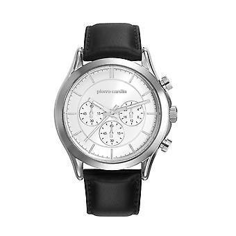 Pierre Cardin męskie zegarek Chrono BOTZARIS HOMME skórzane PC107201F01