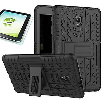 Hybrid outdoor case for Samsung Galaxy tab A 8.0 2017 T380 T385 + 0.4 tempered glass