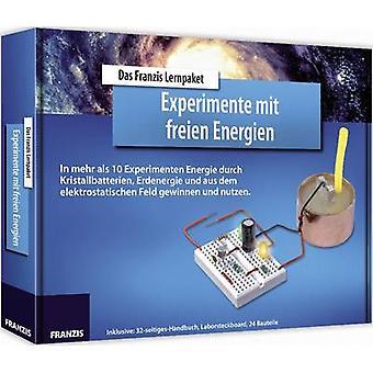 Franzis Verlag LP Experimente mit freien Energien 65277 Kurs malzemesi 14 yaş ve üzeri
