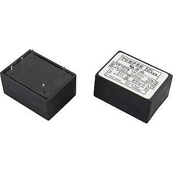 Yunpen YF10T6 EMI filter 250 V AC 10 A 0.3 mH (L x W x H) 41 x 30 x 20.3 mm 1 pc(s)