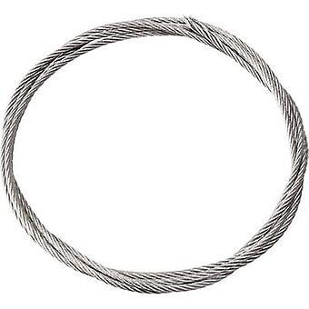 Reely Kunststoffbeschichteter Stahlgeflecht Länge: 2000 mm Außendurchmesser: 1,5 mm