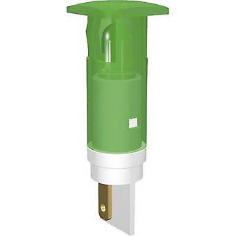 Signaalin rakentaa LED-merkkivalo Ultra vihreä neliö 230 V AC SKHU10728