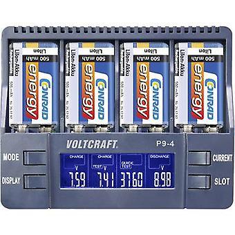 VOLTCRAFT P9-4 NiCd, NiMH, Li-ion 9V PP3 9V battery charger