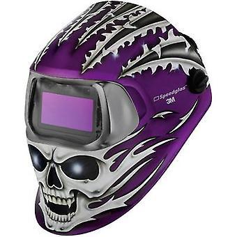 SpeedGlas 100V wściekły czaszka H752620 Spawacze twardy kapelusz EN 379, EN 166, EN 175, EN 169