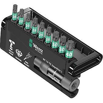 Wera 8767-9/IDC 05057688001 Bit-Set 10-teilige TORX-Buchse Impaktor®-Technologie