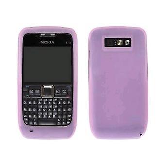 Solution sans fil Etui en Gel Silicone Nokia E71x - rose
