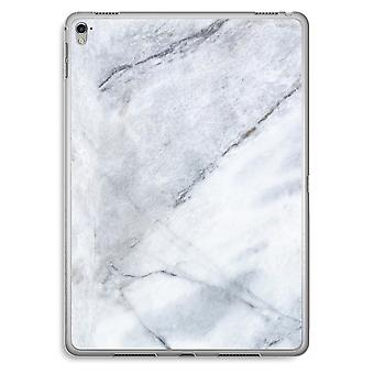 iPad Pro 9,7 tommers gjennomsiktig sak (myk) - marmor hvit