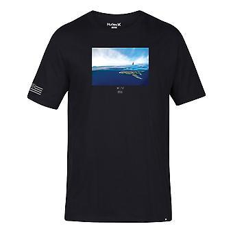 T-shirt de manga curta Hurley Clark Week em preto
