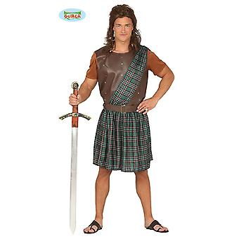 Scottish costume for men's Scottish costume kilt costume