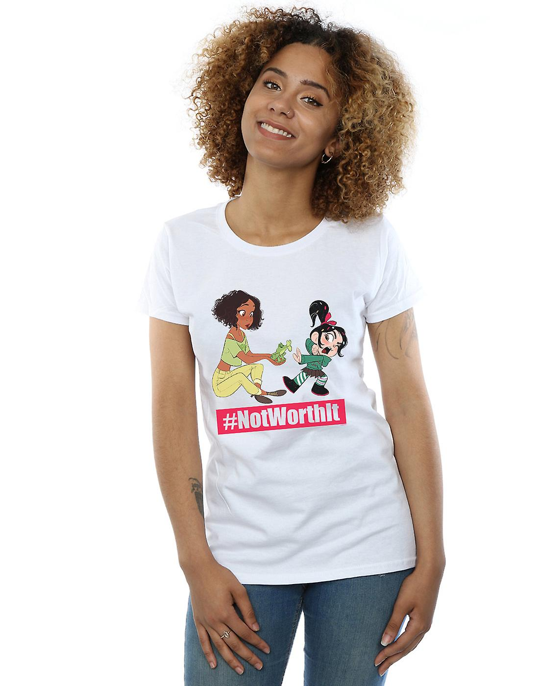 Disney Women's Wreck It Ralph Tiana And Vanellope T-Shirt