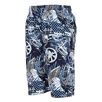 Raiders Zoggs Junior masculin Shorts noir/bleu de natation pour les enfants de 6 à 15 ans