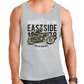 Raisin Hell Moto Racer Motorcycle Men's Vest