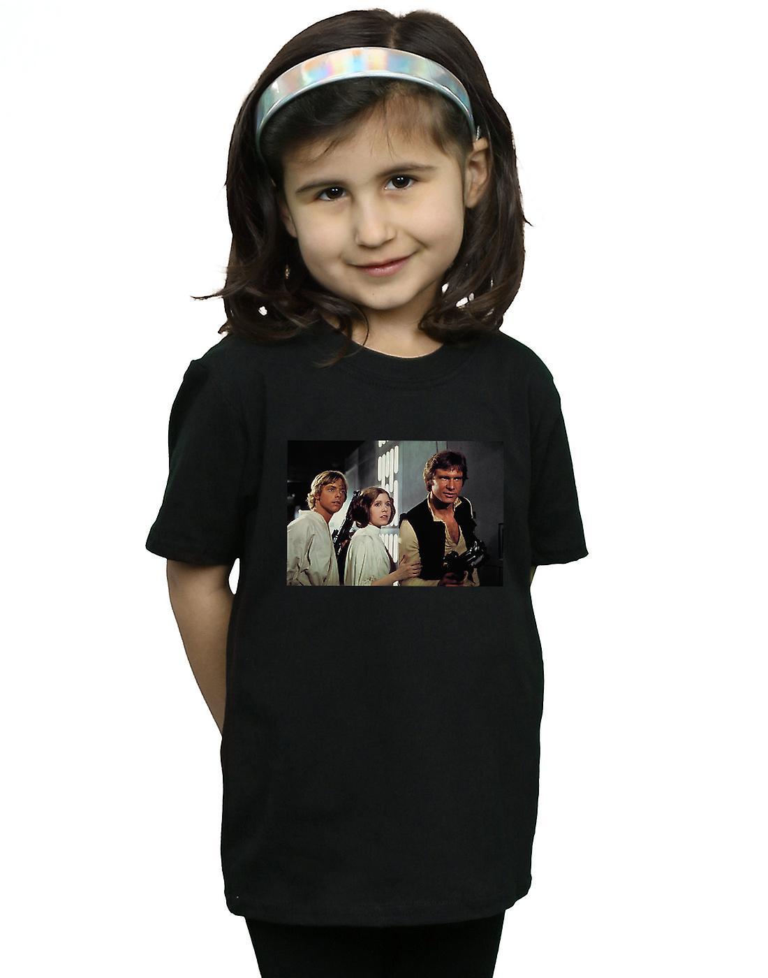 Star Wars Girls Han, Luke And Leia T-Shirt
