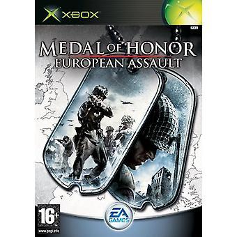 Medal of Honor Europese aanval (Xbox)-nieuw