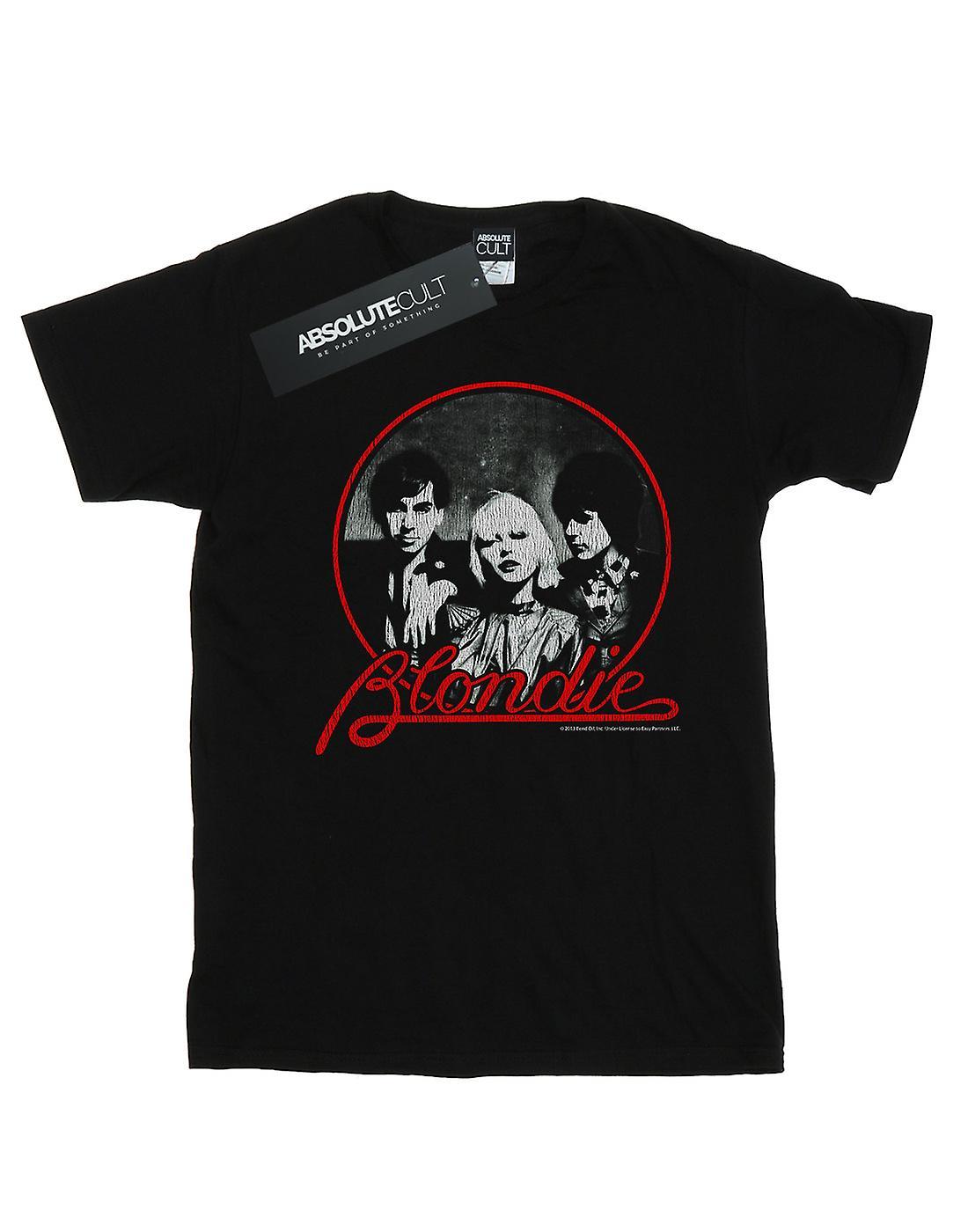 Blondie Men's Distressed Circle T-Shirt