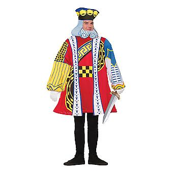 King Of Hearts Costume, Alice in Wonderland, Playng Cards