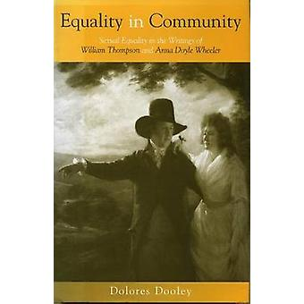Gelijkheid in de Gemeenschap - seksuele gelijkheid in de geschriften van William Tho