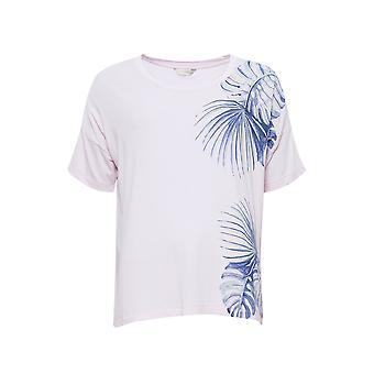 Cyberjammies 4110 Damen Isla Pink Floral Print Pyjama Top
