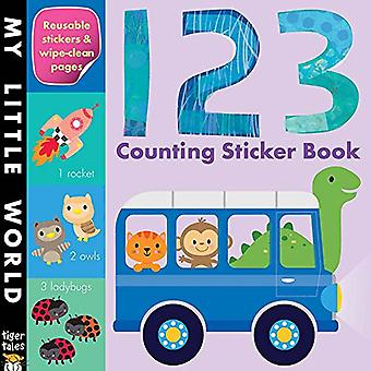 123 tellen Sticker Book (My Little World)