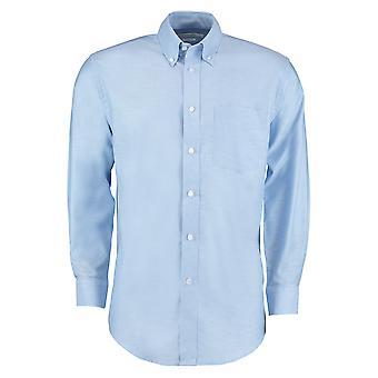Kustom Kit Mens Workplace Long Sleeve Oxford Shirt