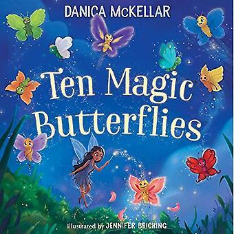 Dez magia borboletas