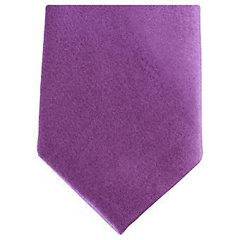 Knightsbridge halsdukar Slim Polyester Tie - lila