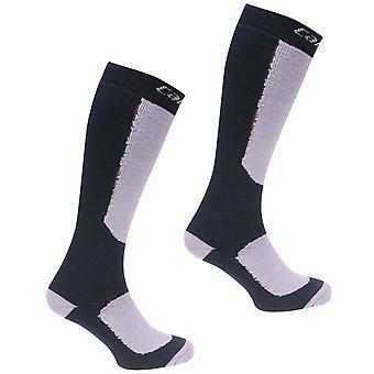 Campri Womens Snow Sock 2 Pack