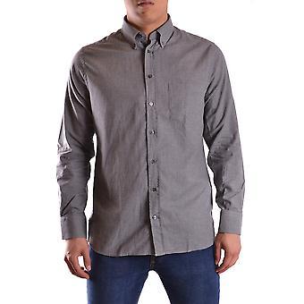 Gant Ezbc144059 Uomo's Camicia di cotone grigio