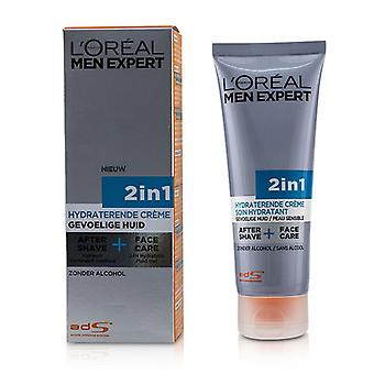 L'oreal Men Expert Face Creme 2-in-1 After Shave + Face Care - 75ml/2.5oz