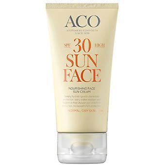 ACO Sonnengesichtscreme SPF 30 50ml