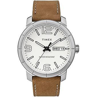 Timex mens watch Mod44 44 mm leather bracelet TW2R64100