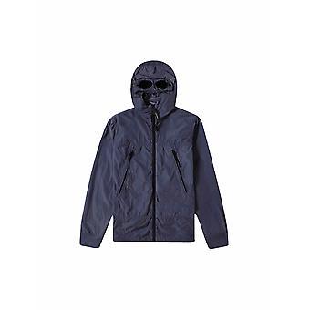 C.P. Company Undersixteen Navy Blue Nylon Goggle Jacket
