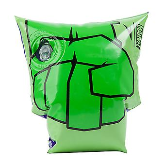 Tacho Junior Marvel Incredible Hulk Print Armbands Swim Training Aid