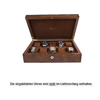 Rapport London Watch Box Burr Walnut 10 Watch Box L275
