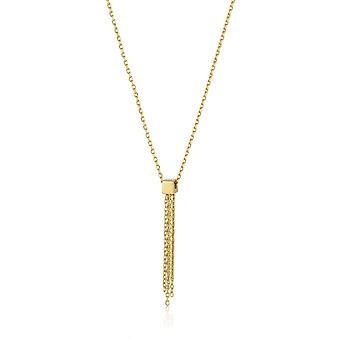 Ania Haie Gold Plated Sterling Silver 'Tassle' Drop Necklace