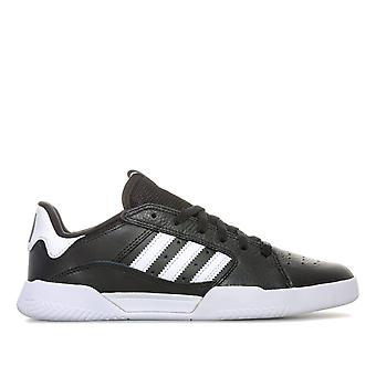 Mens adidas Originals Vrx Cup Low Trainers In Core Black / Footwear White