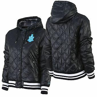Nike Ad Varsity Jacket Female Quilted Coat Bomber 418562-452