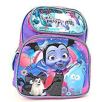 Small Backpack - Vampirina - Shiny Blue w/Friedns 12