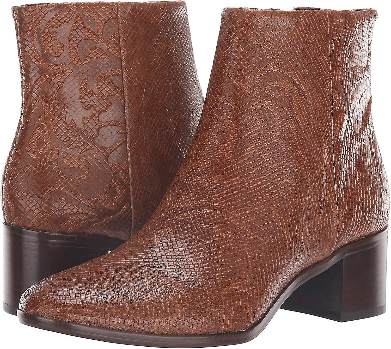Patricia Nash Womens Marcella Almond Toe Ankle Cowboy Boots ILPmu