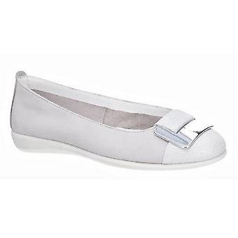 The Flexx Womens/Ladies Rise N Curry Leather Cashmere Slip On Shoe